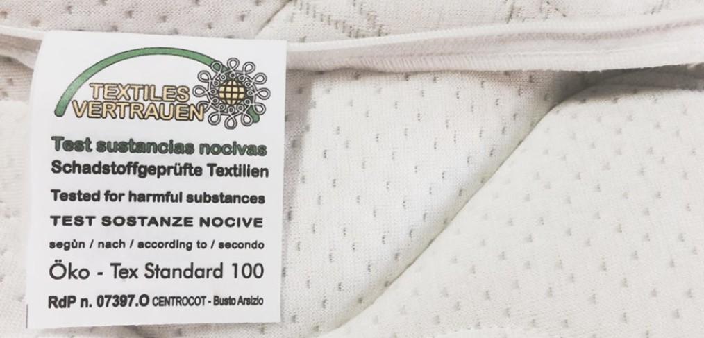 OEKO-TEX Standard 100 - Lineaflex Bed